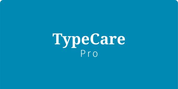 TypeCare - Pro
