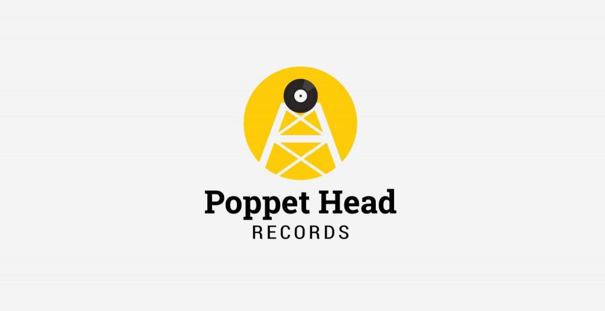 Logo Design Bendigo - Poppet Head Records indie music label website | Type Creative