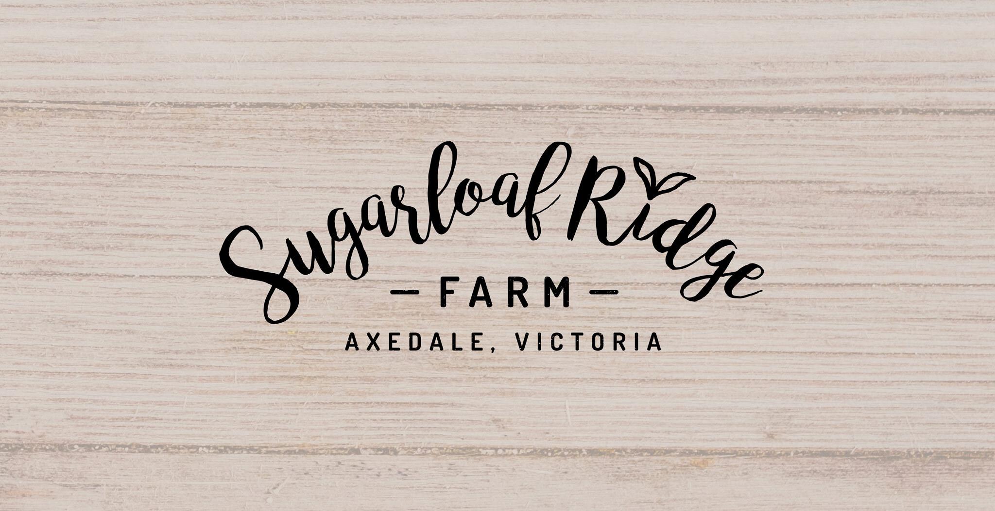 Logo Design Bendigo - Sugarloaf Ridge Farm eCommerce store | Type Creative