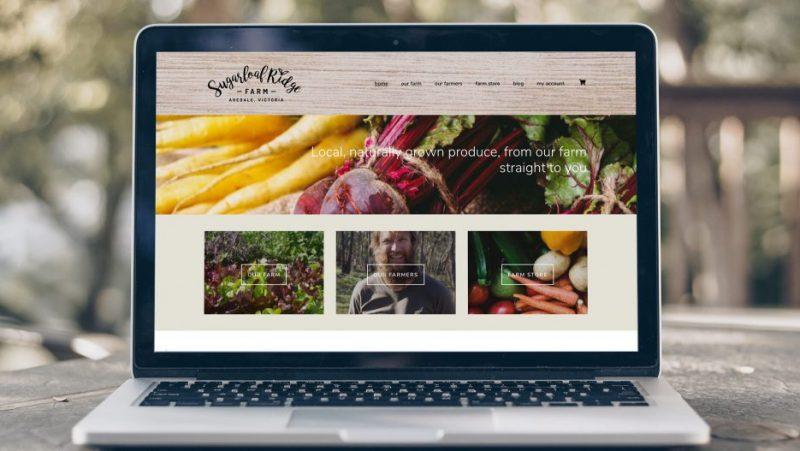 web design in Central Victoria