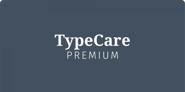 TypeCare - Premium