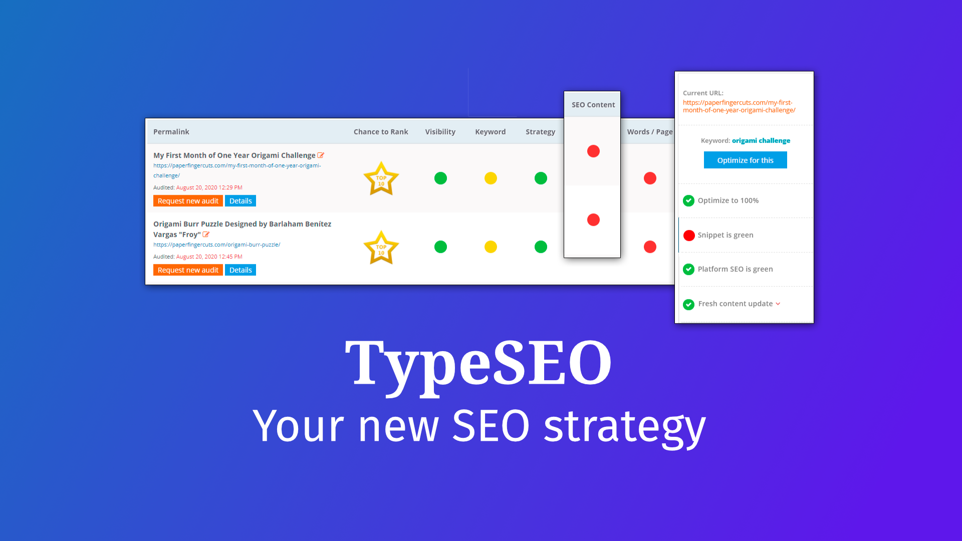 TypeSEO - Your new SEO strategy | Type Creative